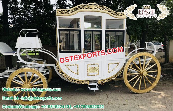 Box Type Covered Horse Bhuggys Carriages