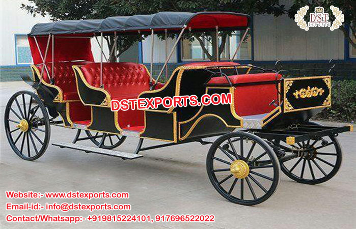 Horse Carriages For Hotel Touring