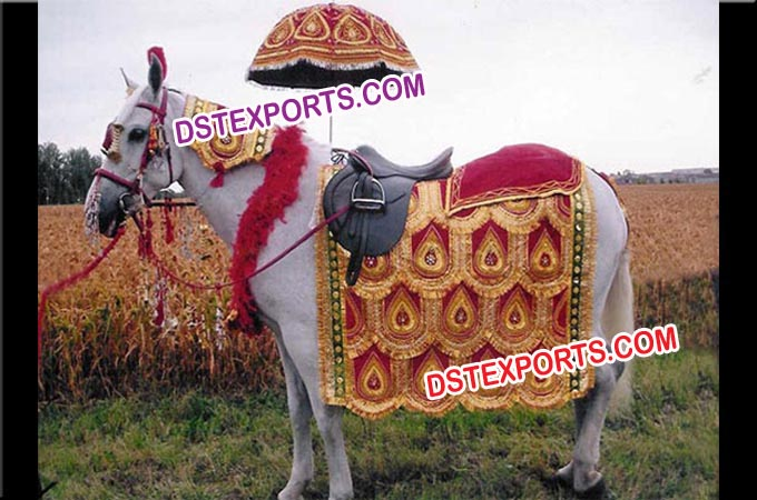 Wedding Decorated Horse Costumes