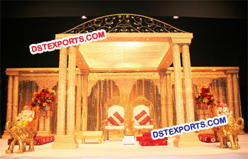 ROYAL WEDDING CROWN MANDAP