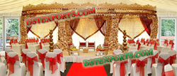 ROYAL WEDDING WOODEN MANDAP SET