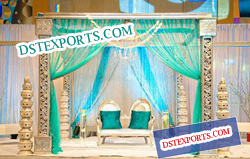 INDIAN WEDDING WOOD CARVING MANDAP