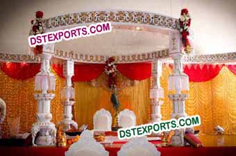 INDIAN WEDDING GANESHA MANDAP