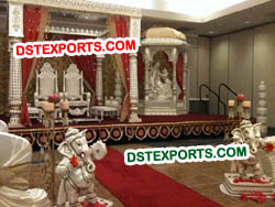 STYLISH WEDDING RADHA KRISHAN MANDAP